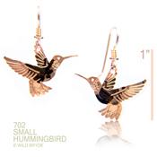Wild Bryde Hanging Hummingbird Earrings