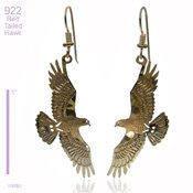 Wild Bryde Red Tailed Hawk Earring