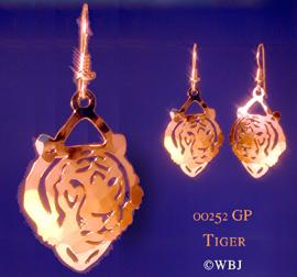 Wild Bryde Tiger Earrings