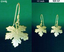 Wild Bryde Maple Leaf Earrings