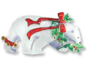 Zarah Christmas Polar Bear Pin