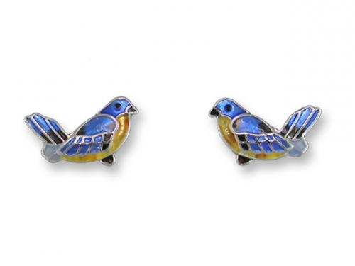 Zarlite Bluebird Earrings