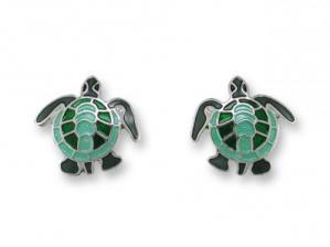 Zarlite Sea Turtle Earrings