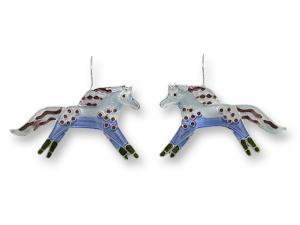 Zarlite Wild Mustang Earrings