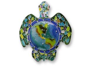 Zarlite Earth Turtle Pin