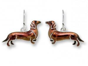 Zarlite Dachshund Earrings