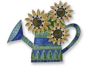 Zarlite French Sunflowers Pin