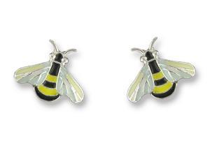 Zarlite Bee Post Earrings