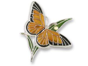 Zarlite Monarch Butterfly Pin