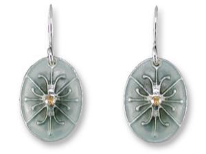 Zarlite Silk and Slate Earrings