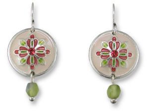 Zarlite Vintage Rose Earrings