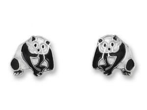 Zarlite Panda Earrings