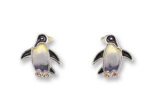 Zarlite Penguin Earrings