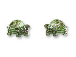 Zarlite Tortoise Post Earrings