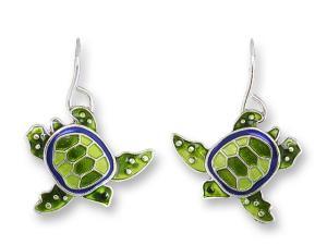 Zarlite Little Turtle Earrings