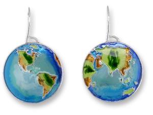 Zarlite Earth Earrings