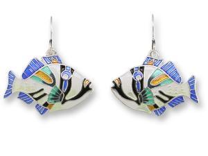 Zarlite Triggerfish Earrings