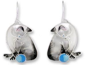 Zarlite Siamese Cat Earrings