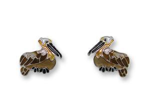 Zarlite Pelican Post Earrings
