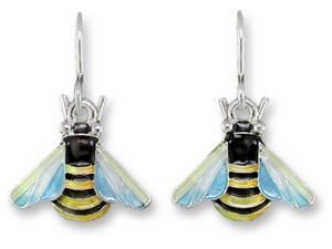 Zarlite Bee Dangle Earrings