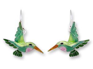 Zarlite Little Hummingbird Earrings