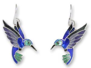 Zarlite Violet-Bellied Hummingbird Earrings