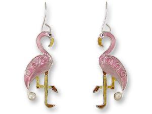 Zarlite Pearly Turtle Earrings